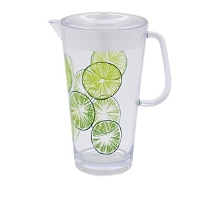 Next lime print pitcher, €11. Available in stores or online.
