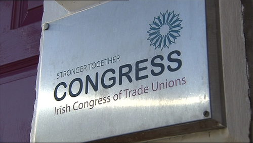 ICTU leaders met in Belfast and agreed to support the draft deal