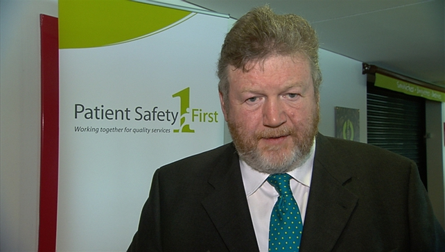 James Reilly said he would be watching the issue closely