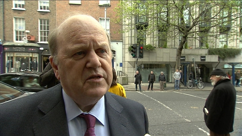 Michael Noonan said private homes of politicians should not be targetted by protests