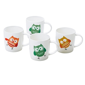Set of four owl mugs, €9.99, available online or in store from Argos.