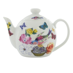 Paperchase floral butterfly teapot.