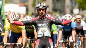 Rogers' win was the second so far for team Azerbaijan Synergy Baku in the 2013 An Post Rás