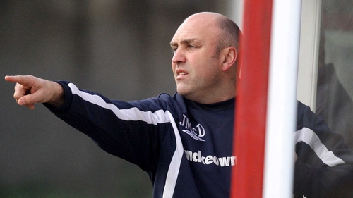 Johnny McDonnell will have the task of steering Shelbourne back to the top flight in 2014