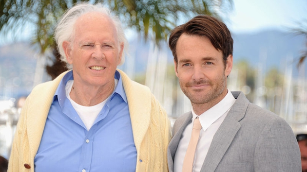 Actors Bruce Dern and Will Forte