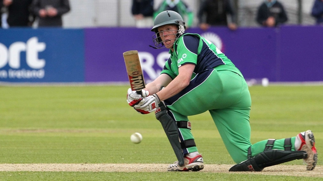 Kevin O'Brien believes the wicket suits Ireland's bowlers and batsman