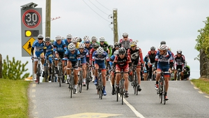 Breaking the speed limit in Ballraggett, Co. Kilkenny