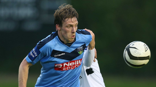 David McMillan was the star of the show for UCD