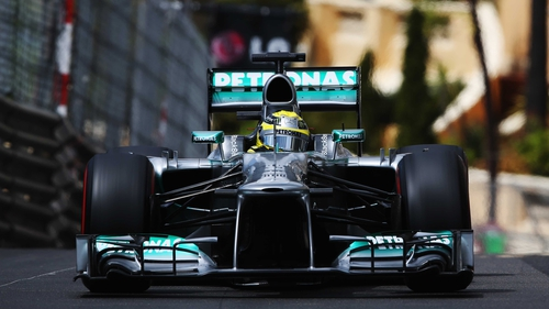 Three in a row for Nico Rosberg