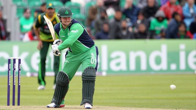 Paul Stirling is hoping to help Ireland overcome UAE