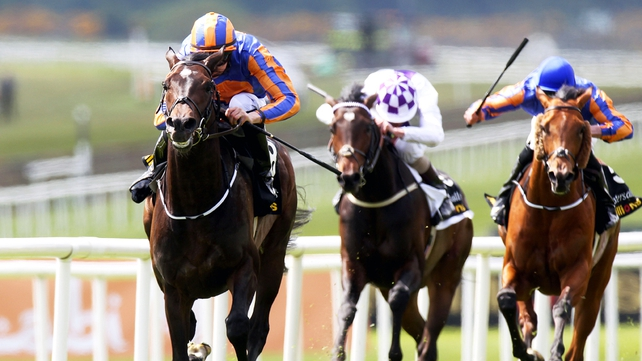 Magician was a three-and-a-half length winner of the Irish 2,000 Guineas