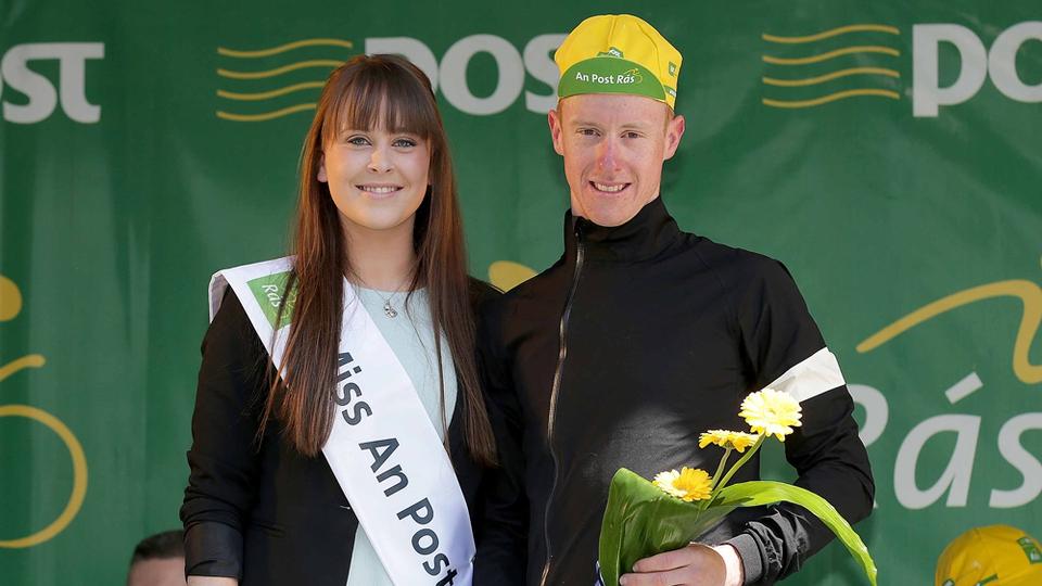 Overall County Rider leader Roger Aiken