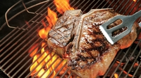 Bison cowboy steak - Bison Bar & BBQ offer their traditional Texan steak recipe