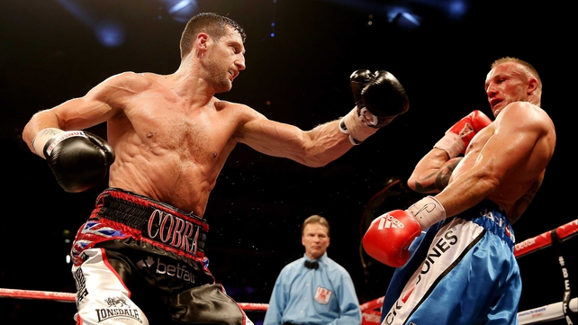 Carl Froch wants a showdown with Andre Ward