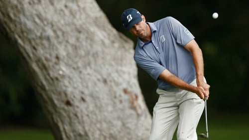 Matt Kuchar holds a share of the lead at the The Barclays