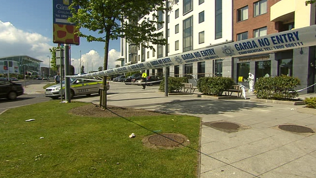 The stabbing happened at an apartment on Malahide Road on Saturday