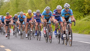 It was a tightly controlled bunch during the early stages of the stage.