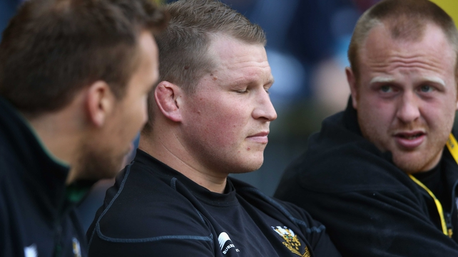 Dylan Hartley went 'to the edge of the cliff and jumped off it' according to Warren Gatland