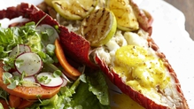 Tremaine's West Coast Crayfish with Curried Citrus Butter