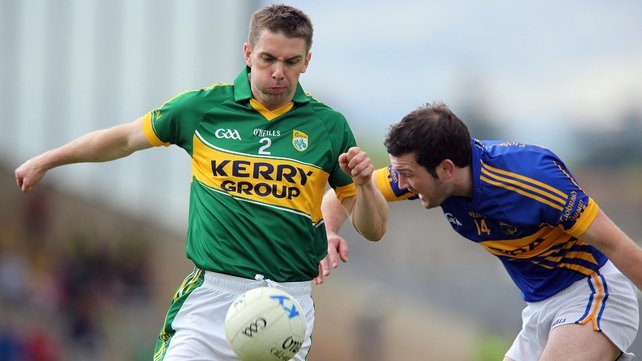 Marc Ó Sé comes into the half back line for Kerry