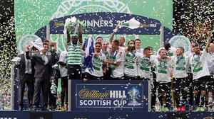 Celtic completed the double with a 3-0 win