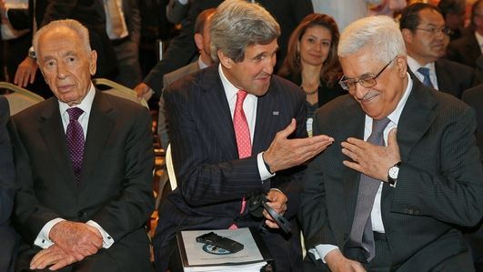 Attempts to restart the stalled Israeli-Palestinian peace talks