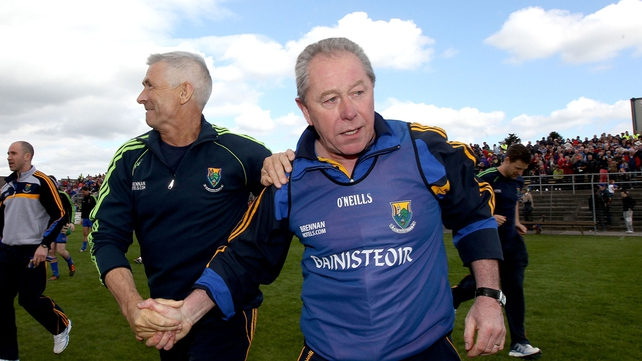 Harry Murphy paid tribute to his players after a stirring win against Longford