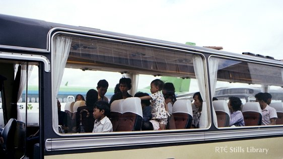 Vietnamese Boat People arrive at Dublin Airport (1979)