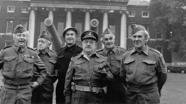 The cast of the original Dad's Army
