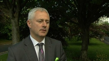Irish Rail's Barry Kenny discusses yesterday's incidents at railway bridges