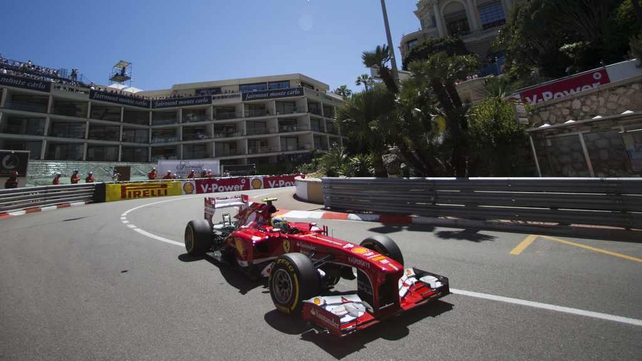 Felipe Massa at the Monaco GP
