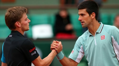 Novak Djokovic dis not have it all his own way