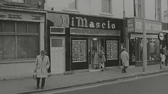 Di Mascio's Fish & Chip Shop, Marlborough Street, Dublin (1972)