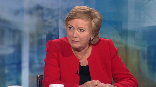 Frances Fitzgerald said aspects of the Child Care Act would be re-examined