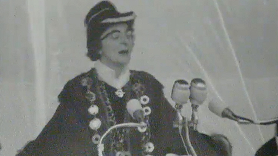 Mayor of Limerick, Frances Condell, 1963