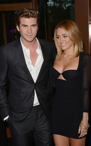 Miley Cyrus and her fiancé, The Hunger Games star Liam Hemsworth, split up