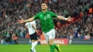 Shane Long headed Ireland to a draw with England last week