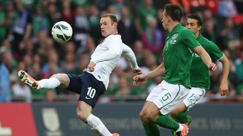 Wayne Rooney in action against Ireland last year