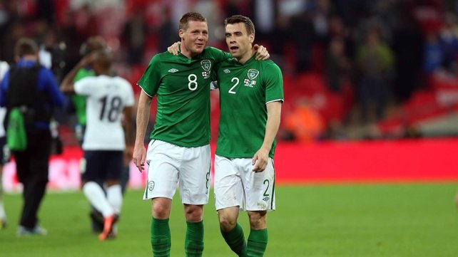 James McCarthy and Seamus Coleman will be playing together at Everton