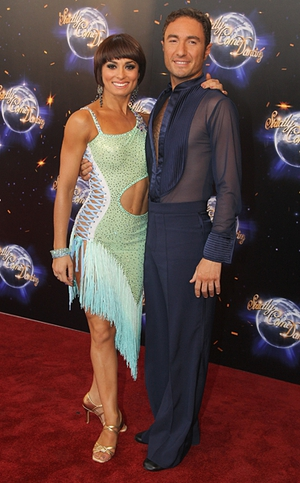 Strictly Come Dancing professional partners Flavia Cacace and Vincent Simone were the joint winners of the Rear of the Year award in the UK