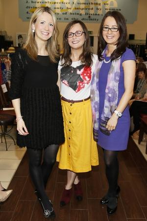 Karen McBride, Mary McAreavey and Sinead McKenna