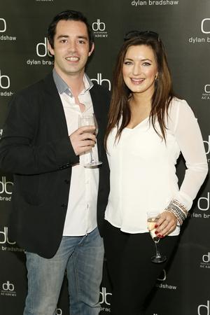 Robbie Dobbyn and Saoirse O'Brien
