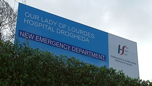 Our Lady of Lourdes Hospital in Drogheda is among those worst-affected