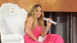 Mariah Carey - performing on Good Morning America last week