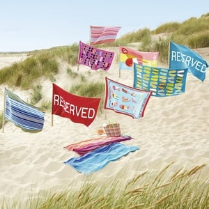 Selection of beach towels, available in store or online from Debenhams. Prices vary.