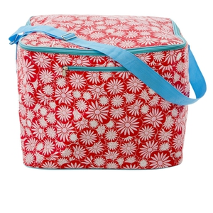 Large red cooler bag, €62, available from Debenhams.