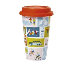 Yukari travel mug, €15.50, available from Debenhams.