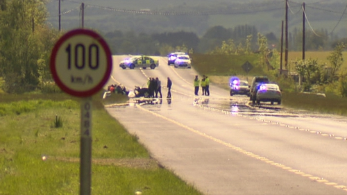 The N78 between Athy and Ballytore is closed