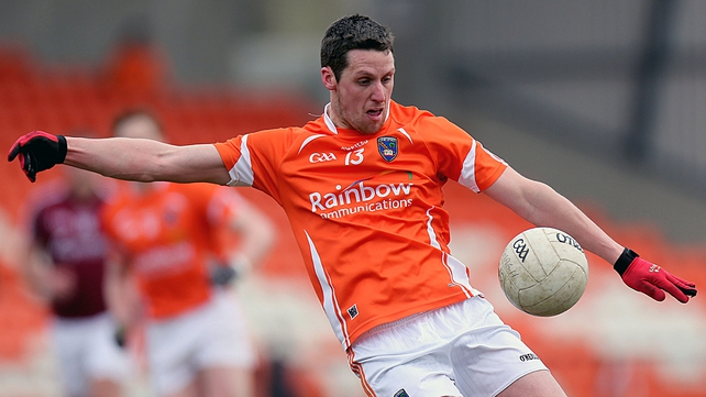 Gavin McParland is one of four Armagh footballers who have decided to move abroad for work