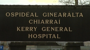 The man was taken by ambulance to Kerry General Hospital but was pronounced dead on arrival